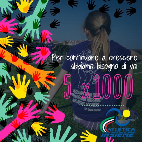 5 x 1000 atletica insieme 2018-01